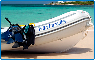 Villa Paradise activities in Anguilla